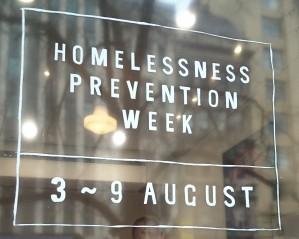 Homelessness Prevention Week
