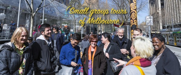 Small group walking tours of Melbourne and its laneways - group image