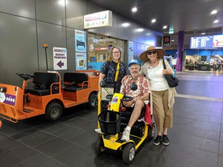We can arrange for the hire of Wheelchairs to enjoy a tour